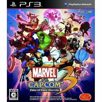 UsedGame PS3 Marvel Vs Capcom 3 Fate of Two Worlds [Japan Import] FreeShipping