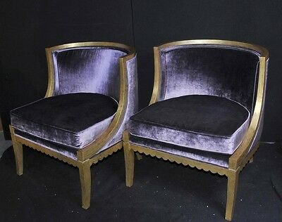 French Regency Tub Chairs Arm Fauteils Gilt Frame Bergere • £2,250.00