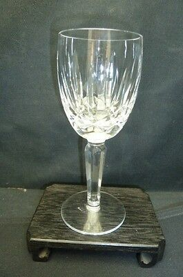 "Waterford Crystal Kildare Pattern Claret Wine Goblet... 6 1/2"" Tall"