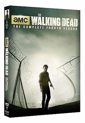 The Walking Dead: The Complete Fourth Season (DVD, 2014, 5-Disc Set)
