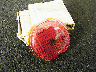 Nors Tail Light Lens 1939 Chev Pontiac 1936-1937 Olds Made By Stadium Glass