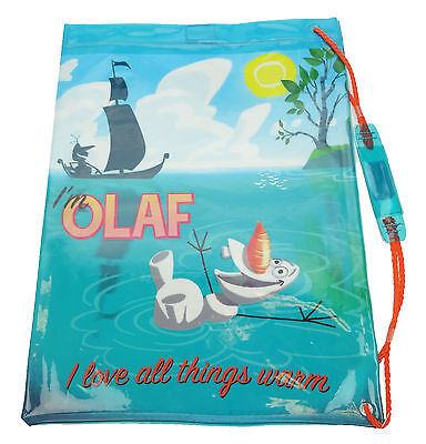 Disney Frozen | Olaf PVC Waterproof | School | Swim | Gym Bag