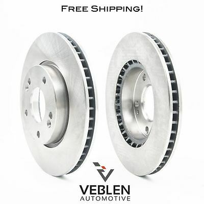 2 Rear Premium Disc Rotors 2006 - 2012 Ford Fusion FREE SHIPPING 11.01 IN.