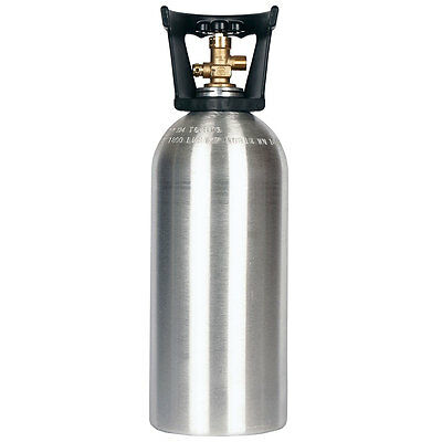 10 lb CO2 Cylinder New Aluminum with Handle - Fresh Hydro Test - Free Shipping!