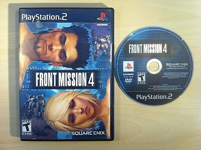 Front Mission 4 PS2 (Sony PlayStation 2, 2004) Missing Manual