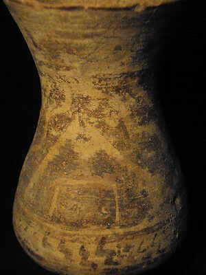 Ancient Teracotta Indus Valley Large Painted Vessel 2000 BC