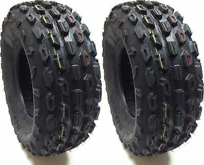 (2) TWO 22X8R10 DURO THRASHER RADIAL 4 PLY ATV TIRES 22X8-10 NEW TWO TIRE PAIR