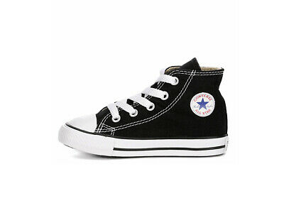 f7a61ae36cf Converse Shoes All Star Chuck Infants Babies Boys Toddlers Black White  Canvas