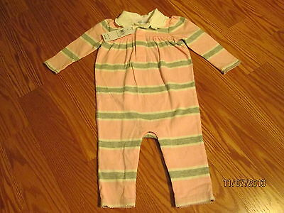 RALPH LAUREN BABY GIRL ONE PIECE OUTFIT SIZE 6 MO. NWT