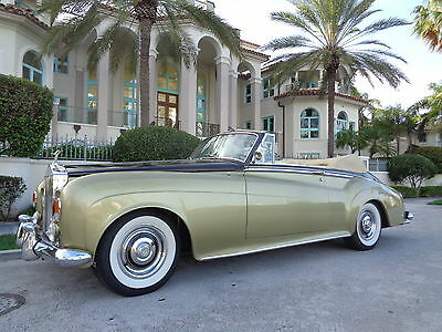Rolls-Royce : Other CONVERTIBLE ROLLS ROYCE SILVER CLOUD CONVERTIBLE THE ONLY ONE THAT COMES WITH 12 M. WARRANTY