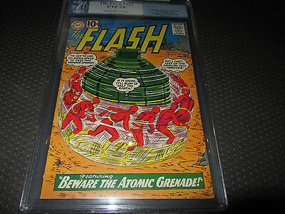 Flash 122 PGX (like CGC) 7.0 F/VF, 1st Appearance of the Top, (DC 1961)