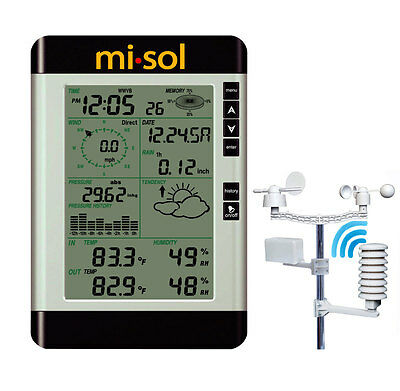 Pro Wireless Weather Station with PC connection, Estación Meteorológica
