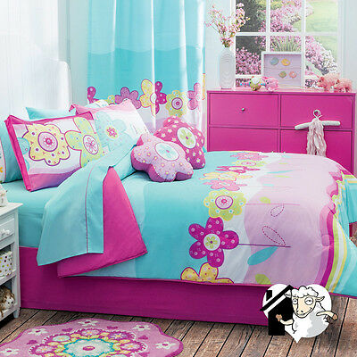 New Flowers For Girls, Double Sided Comforter Set