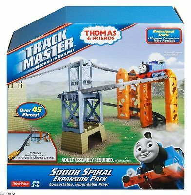 Fisher-Price Thomas & Friends TrackMaster Sodor Spiral Expansion Pack 45 piece