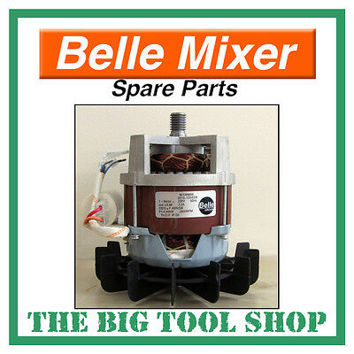 Belle 230V Electric Motor Only For Mini Mix 130 Mixer Spare Parts Minimix