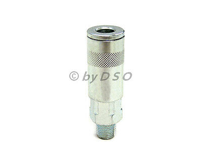 """Compressor 1/4"""" BSP Male Thread Female Air Couplings Quick Connector 2 Pieces"""