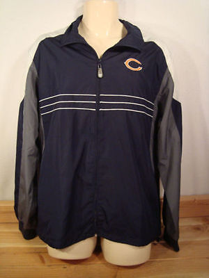 MEN'S CHICAGO BEARS SIZE L NFL TEAM APPAREL REEBOK JACKET  NEW WITHOUT TAGS