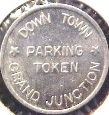 Downtown Parking Token-Grand Junction Colorado = 7167