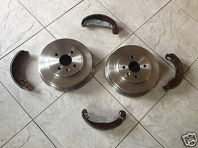 Ford Focus Mk 1 1.4,1.6,1.8  98-04 Two Rear Brake Drums And Set Of Shoes