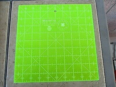 "10"" Square Ruler Making Layer Cakes from Scraps Template Missouri Star Quilt Co"