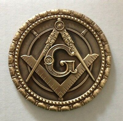 "3"" Masonic Car Decal(AT)"