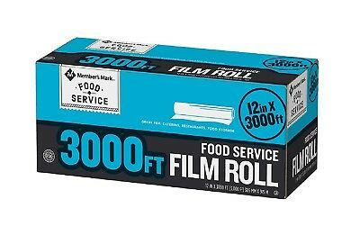 "Daily Chef Foodservice Film 12"" X 3000' Kosher Restaurants Catering Storage New"