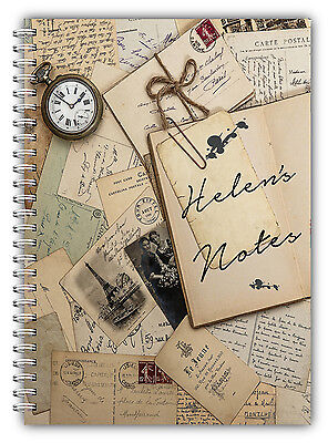 A5/ A4 Personalised Notebooks/ Personalised Notebook Gift/personalised Note Pad