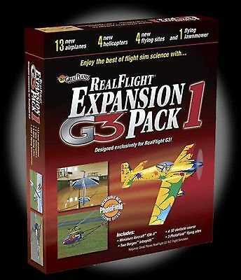 RealFlight G3/G4 Series Expansion Pack 1 Great Planes GPMZ4111