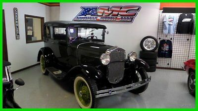 Ford : Model A RESTORED-MOVIE CAR FROM-ROAD TO PERDITION & PUBLIC 1931 restored movie car from road to perdition public used manual