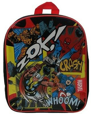 Marvel Comics | Spider-Man | Hulk | Avengers Backpack | Rucksack | School Bag