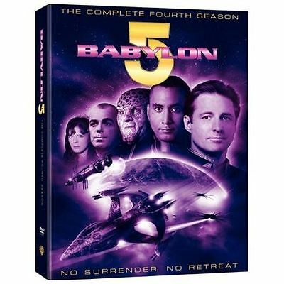 Babylon 5 - The Complete 4th Fourth Season 4 Four  (DVD, 2009, 6-Disc Set)