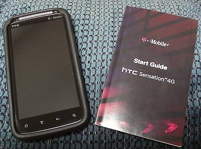 HTC SENSATION 4G T-MOBILE CELLPHONE  MODEL# PG58100