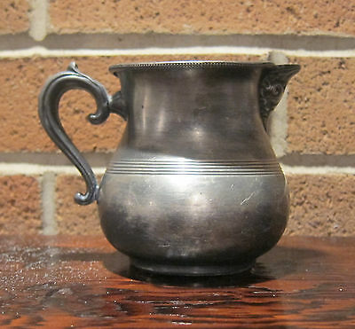 Simpson Hall Miller & Co. silver plated creamer/pitcher