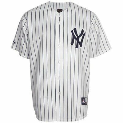new concept 32b7a 10eb7 NWT NEW YORK Yankees Majestic Big & Tall Cooperstown Men's Replica Jersey
