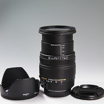 SIGMA 17-70mm F2.8-4 DC MACRO HSM for Pentax Excellent+