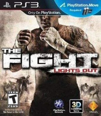 The Fight: Lights Out, Playstation 3 game, no manual, Disc +case Tested