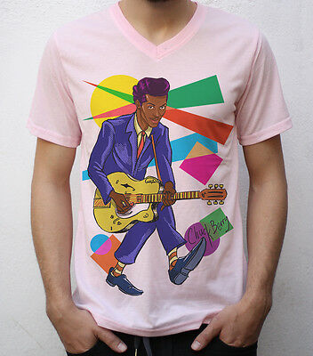 Chuck Berry T shirt Artwork