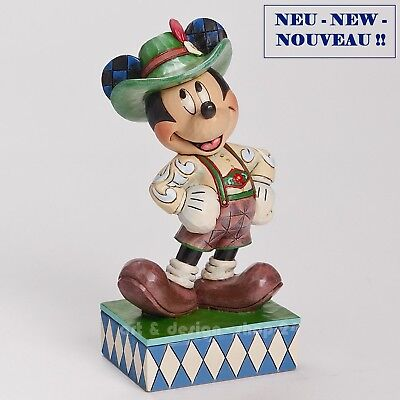 "DISNEY - Skulptur - ""GERMANY MICKEY"" - prächtige Jim Shore Figur  4043633 NEU !!"