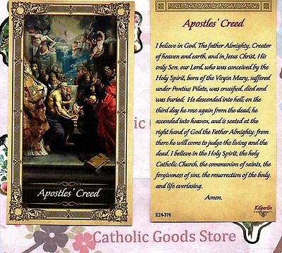 Apostles Creed - Paperstock Holy Card