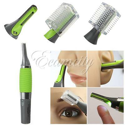 Personal Ear Nose Neck Eyebrow Face Trimmer Shaver Hair Clipper Remover Cleaner