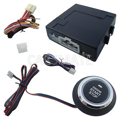 Universal Car Engine Start Stop Push Button Compatible With Car Alarm System