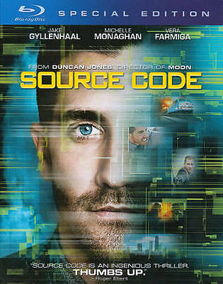 Source Code (Blu-ray Disc, 2011) NEW Free Shipping