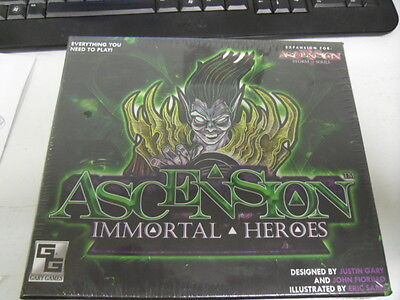 Ascension Immortal Heroes Game. Sealed. Expansion for storm of souls