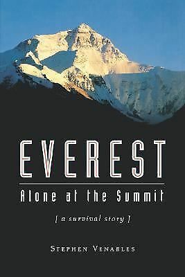 Everest: Alone at the Summit (Adrenaline) Venables, Stephen Paperback