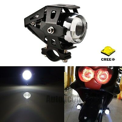 HID White U5 Transformers Style CREE LED Spot Headlight Fog Light For Motorcycle