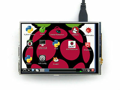 """New 4"""" TFT LCD Touch Screen Module 320*480 RGB Display Board For Raspberry Pi"""