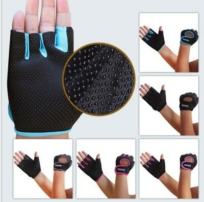 Gel Bicycle Bike Cycling Gloves Sport Half Finger Antiskid Mittens Men Women