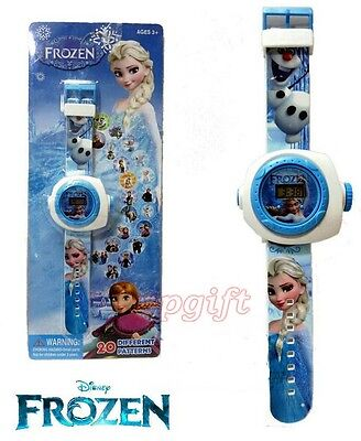 Lot New Princess Children Kids Projection Watch Party Gift Different 20 images