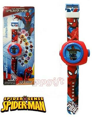 Lot New Spider-Man Children Kids Projection Watch Party Gift Different 20 images