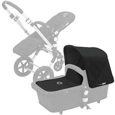 Bugaboo Cameleon3 Canvas Tailored Fabric Set Extendable Canopy Washable  Black
